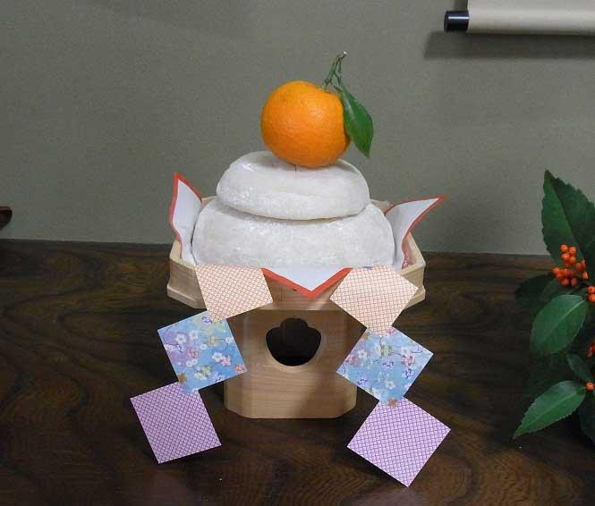 佐賀のおコメで作った鏡餅